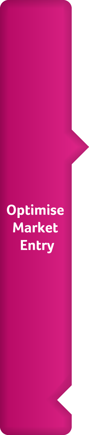 optimise market entry